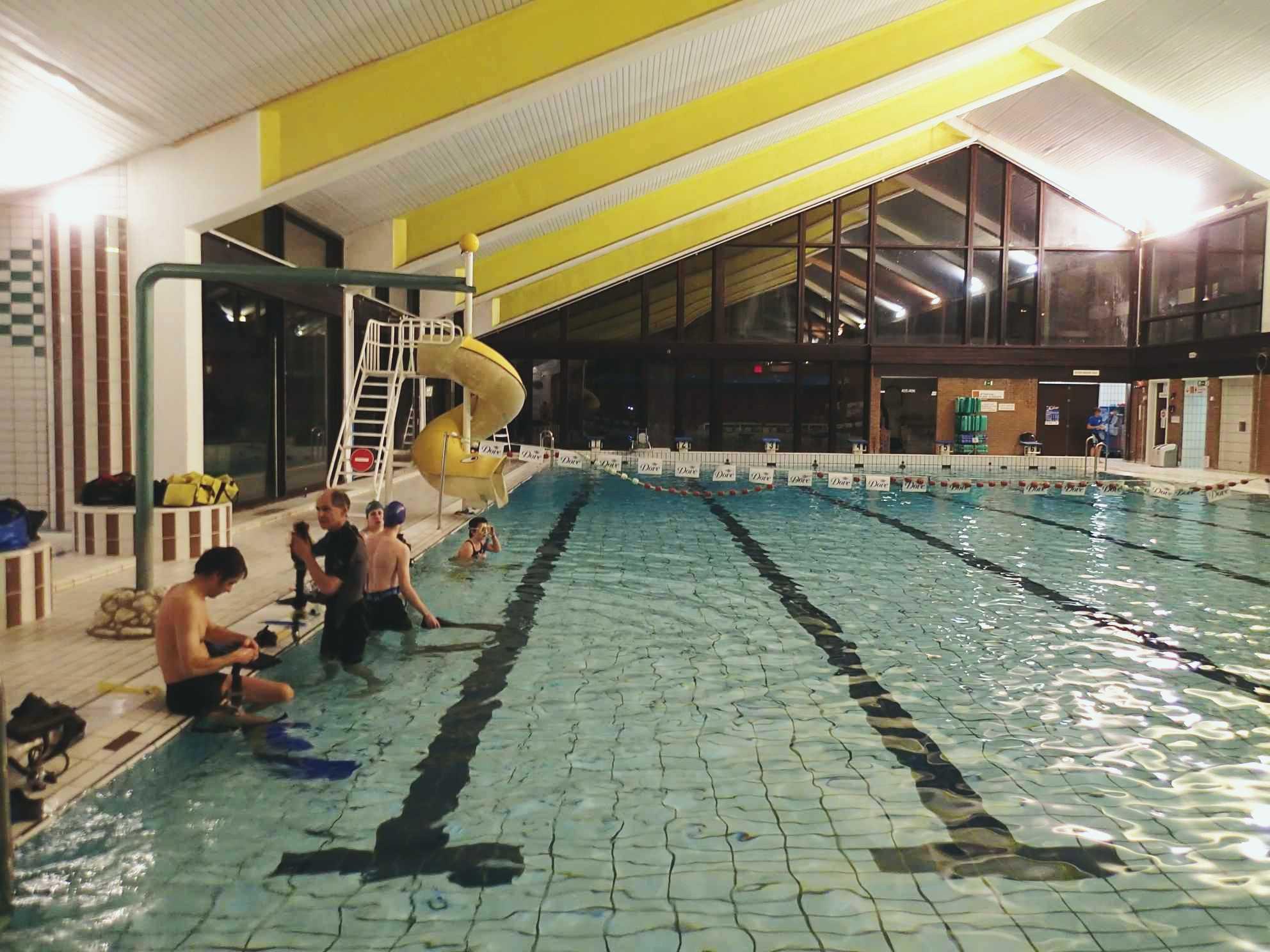 Groupe belge de recherche scientifique sous marine for Basse goulaine piscine